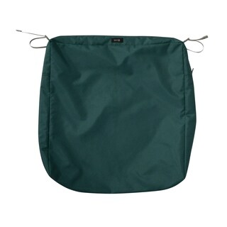 """Ravenna® Square Patio Seat Cushion Slip Cover, 25""""L x 25""""W x 5""""T - 25""""l x 25""""w x 5""""t"""