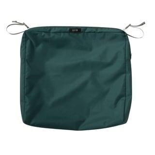 "Ravenna® Rectangular Patio Seat Cushion Slip Cover, 21""L x 19""W x 3""T"