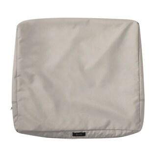 """Ravenna® Patio Back Cushion Slip Cover, 21""""L x 20""""W x 4""""T - 21""""l x 20""""w x 4""""t"""