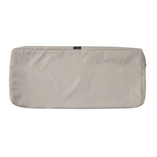 """Ravenna® Patio Bench/Settee Cushion Slip Cover, 48""""L x 18""""W x 3""""T - 48""""l x 18""""w x 3""""t"""