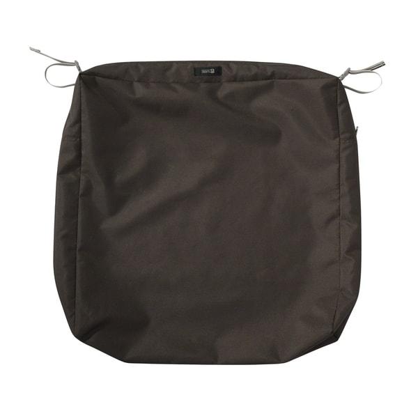 """Ravenna® Square Patio Seat Cushion Slip Cover 25""""L x 25""""W x 5""""T - 25""""l x 25""""w x 5""""t"""