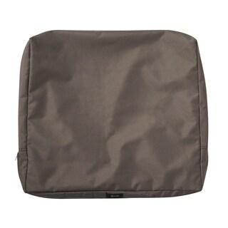 """Ravenna® Patio Back Cushion Slip Cover, 25""""L x 20""""W x 4""""T - 25""""l x 20""""w x 4""""t"""