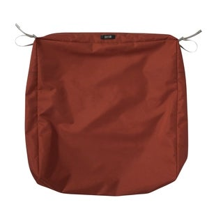 """Ravenna® Square Patio Seat Cushion Slip Cover, 23""""L x 23""""W x 5""""T - 23""""l x 23""""w x 5""""t"""