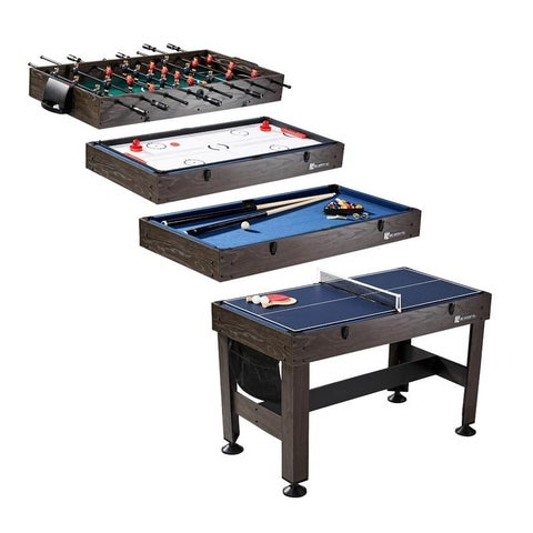 MD Sports 54 inch 4 in 1 Combo Game Table