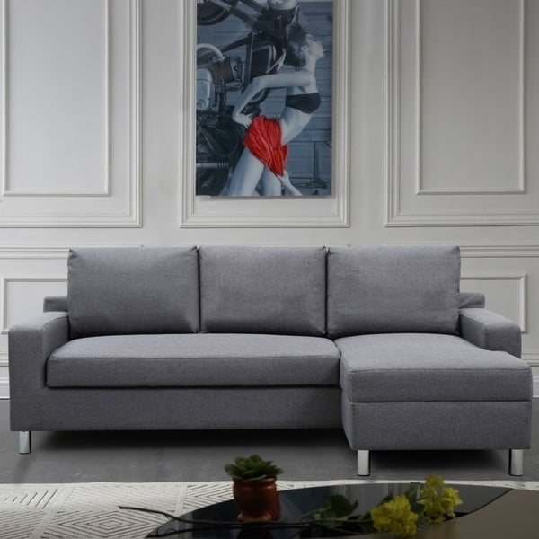 Amelie Sectional sofa with the bed, Right side facing