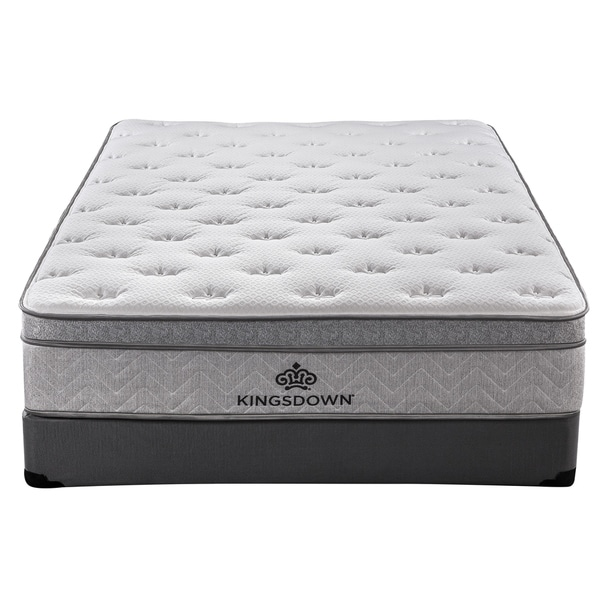 Kingsdown Mezzo 13-inch Firm Luxury Euro Top Mattress. Opens flyout.