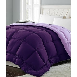 Microfiber Hypoallergenic Reversible Down Alternative Comforter