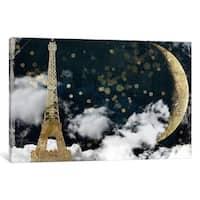 """iCanvas """"Cloud Cities Paris"""" by Color Bakery Canvas Print"""