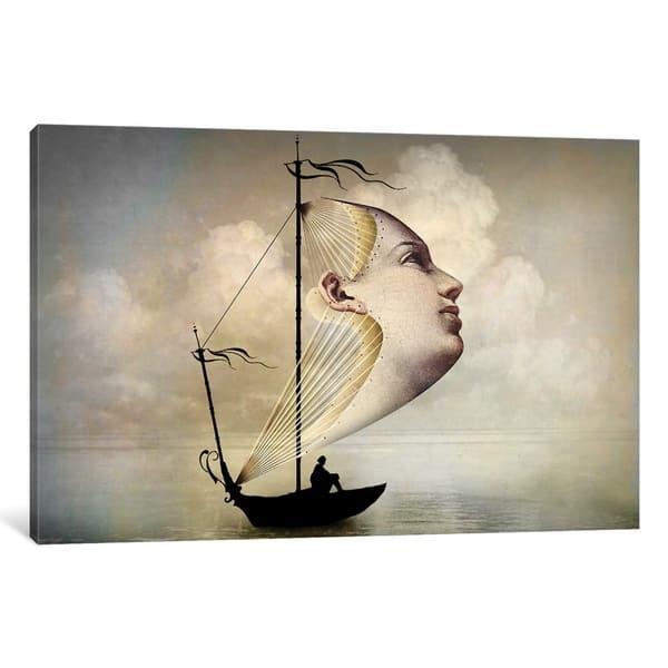 Icanvas Homeward Bound By Catrin Welz Stein Canvas Print Overstock 22512714