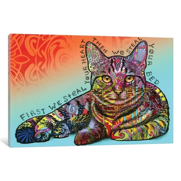 """iCanvas """"Steal Your Bed"""" by Dean Russo Canvas Print"""