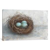 "iCanvas ""Rustic Bird Nest I"" by Ethan Harper Canvas Print"