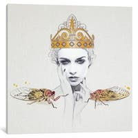 "iCanvas ""Queen No. 1"" by Jenny Rome Canvas Print"