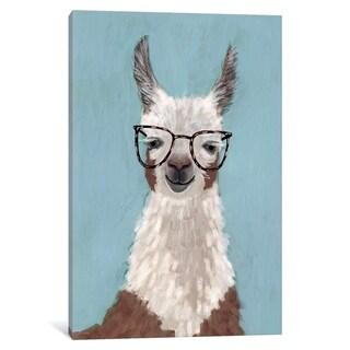 "iCanvas ""Llama Specs I"" by Victoria Borges Canvas Print"