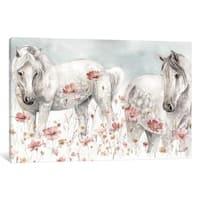 "iCanvas ""Wild Horses III"" by Lisa Audit Canvas Print"