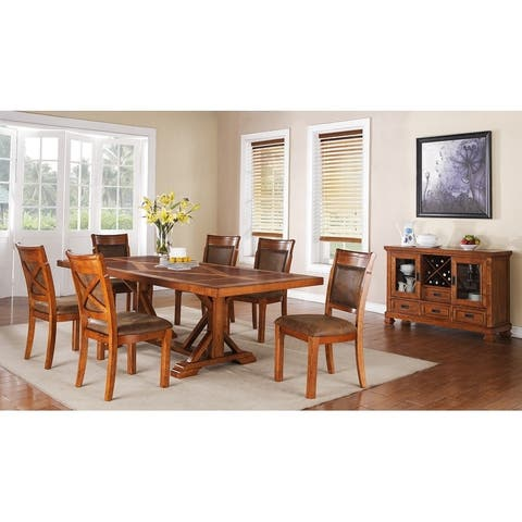 """Porter Designs Brookside Padded Seat & Back Dining Side Chair - 40""""H x 26""""D x 22""""W"""