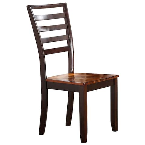 """Porter Designs Heritage Park Contemporary Slat Back Dining Side Chair - 40""""H x 23""""D x 19"""