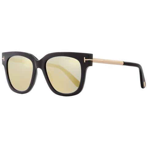 99f25bf70c Tom Ford TF436 Tracy 01C Womens Black Gold 53 mm Sunglasses