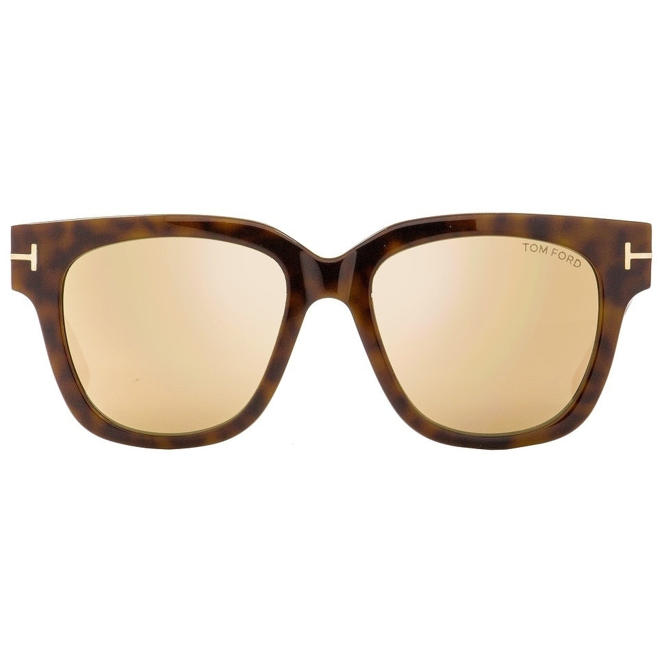 73a6f74a3e6d8 Shop Tom Ford TF436 Tracy 56G Womens Havana Gold Gray 53 mm Sunglasses -  Free Shipping Today - Overstock - 22513664