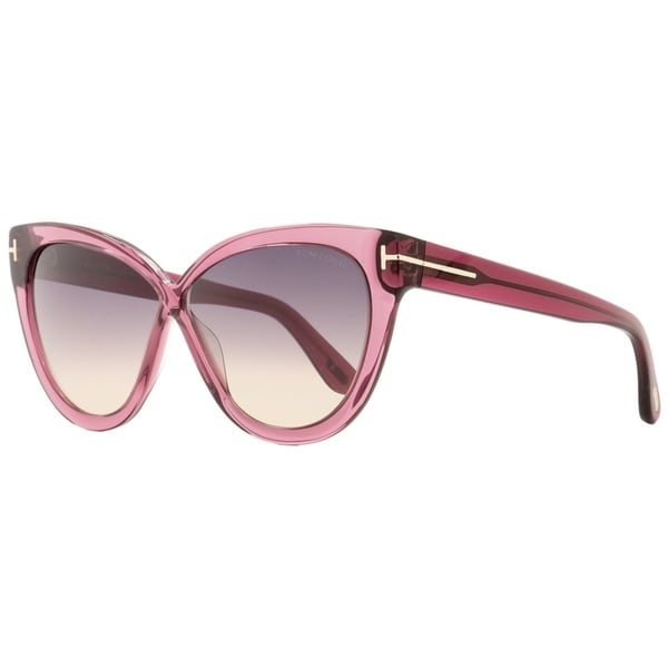 226b9fbd92c Shop Tom Ford TF511 Arabella 69B Womens Transparent Bordeaux 59 mm  Sunglasses - transparent bordeaux - Free Shipping Today - Overstock -  22513668