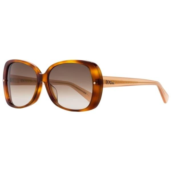 9d22dd252caf Shop Dior Jupon 1F 3JYFM Womens Light Havana Antique Rose 59 mm Sunglasses  - light havana antique rose - Free Shipping Today - Overstock.com - 22513690