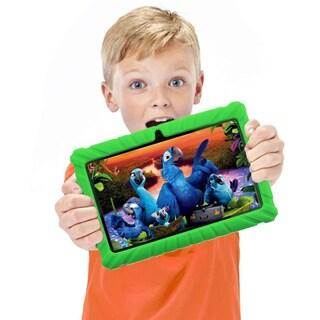 "Contixo Kids Tablet K2 7"" Touch Screen Display Bluetooth WiFi Camera - Green"