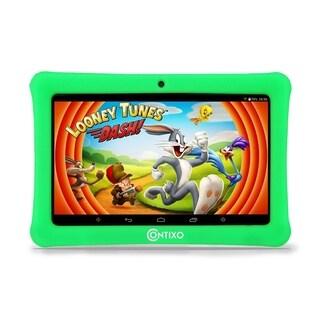 "Contixo Kids Tablet K1 7"" Touch Screen Display Bluetooth WiFi Camera - Green"