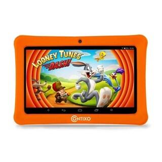 "Contixo Kids Tablet K1 7"" Touch Screen Display Bluetooth WiFi Camera - Orange"