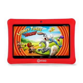 "Contixo Kids Tablet K1 7"" Touch Screen Display Bluetooth WiFi Camera - Red"