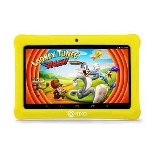 """Contixo Kids Tablet K1 7"""" Touch Screen Display Bluetooth WiFi Camera - Yellow"""