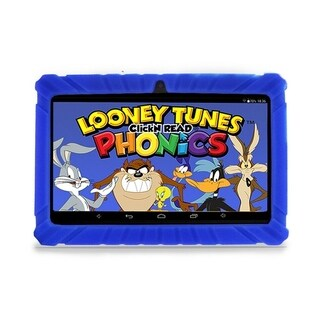 "Contixo Kids Tablet K2 7"" Touch Screen Display Bluetooth WiFi Camera - Dark Blue"