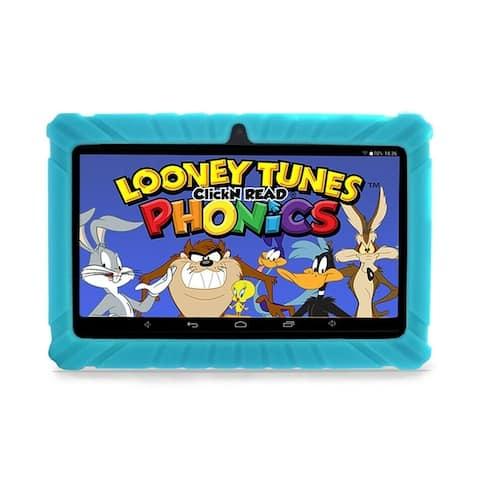 "Contixo Kids Tablet K2 7"" Touch Screen Display Bluetooth WiFi Camera - Light Blue"