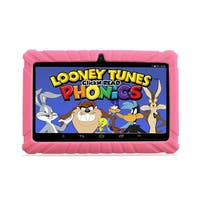 """Contixo Kids Tablet K2 7"""" Touch Screen Display Bluetooth WiFi Camera - Pink"""