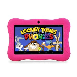 "Contixo Kids Tablet K3 7"" Touch Screen Display Bluetooth WiFi Camera - Pink"