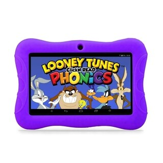 "Contixo Kids Tablet K3 7"" Touch Screen Display Bluetooth WiFi Camera - Purple"