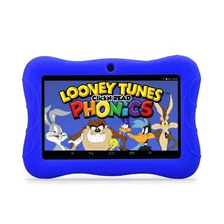 "Contixo Kids Tablet K3 7"" Touch Screen Display Bluetooth WiFi Camera - Dark Blue"
