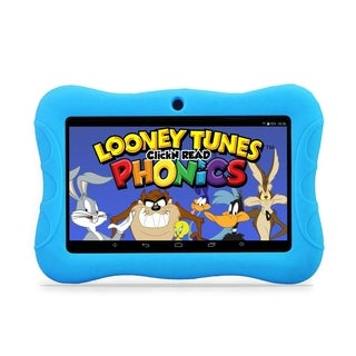 "Contixo Kids Tablet K3 7"" Touch Screen Display Bluetooth WiFi Camera - Light Blue"