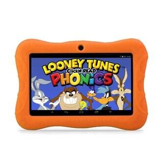 "Contixo Kids Tablet K3 7"" Touch Screen Display Bluetooth WiFi Camera - Orange"