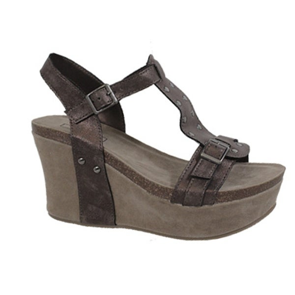 a6873dac4e8a Shop Yoki-Hestry-26- Women s Platform Wedge - Free Shipping On Orders Over   45 - Overstock.com - 22513872