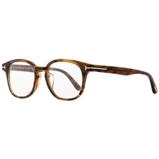 Tom Ford TF399F Frank 048 Unisex Brown Melange/Gold 52 mm Sunglasses - brown melange/gold