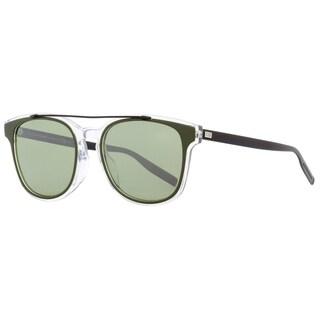 Dior Black Tie 211FS LCVEL Mens Crystal/Khaki/Matte Black 54 mm Sunglasses - crystal/khaki/matte black