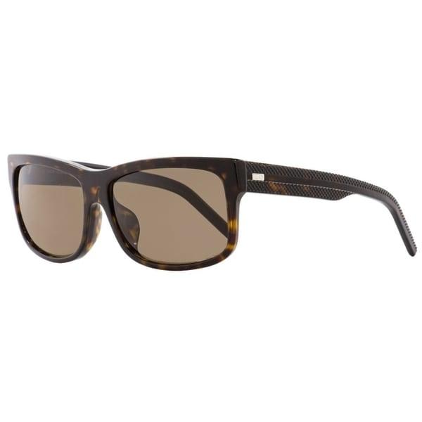 77fb4a9fbfc4 Dior Black Tie 174FS 086SP Mens Dark Havana 60 mm Sunglasses - Dark Havana.  Click to Zoom