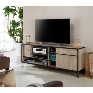 Furniture of America Glenn Mid-Century Modern 70-inch TV Stand