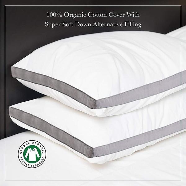 Shop Down Alternative Gusset Organic Cotton Pillow 20 Quot X