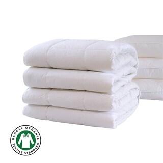 A1HC- GOTS Certified Organic Cotton 100% New Zealand Pure Wool Duvet Inserts White