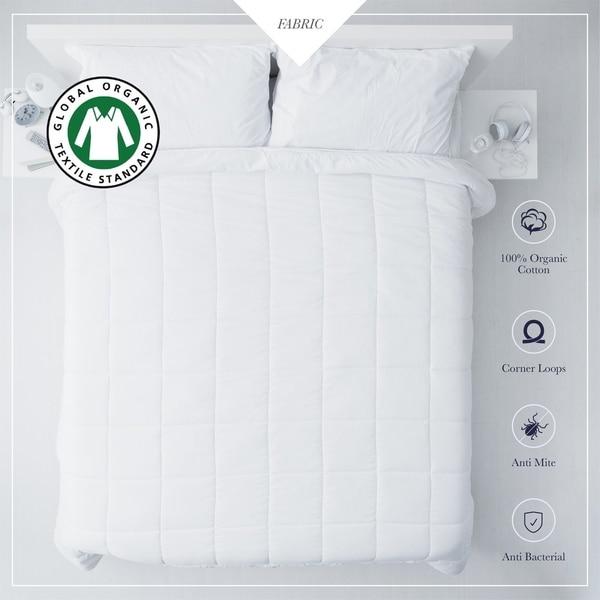 Gots Certified Cotton Down Alternative Duvet Insert