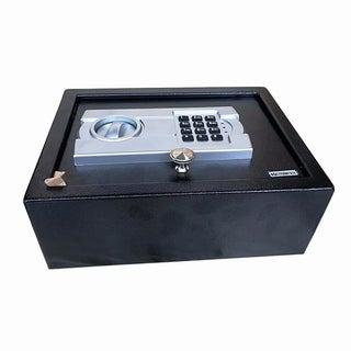 DR10EG Digital Electronic Steel Safe Box Black Body & Gray Panel