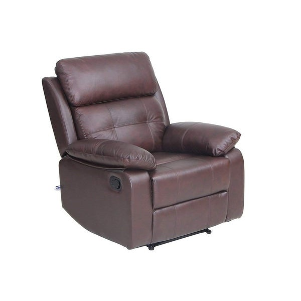 Top Grain Leather Sofa Set 1 seat Sofa Recliner Chair with Armrest