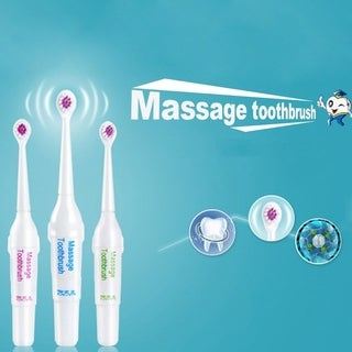 Electric Ultrasonic Massage Toothbrush Family Brushing Whitening Tooth Brushes - random - N/A