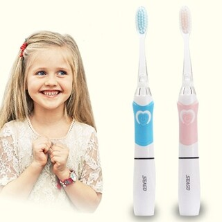 Seago SG-677 Children Electric Intelligent Sonic Toothbrush With LED Light - PInk - N/A