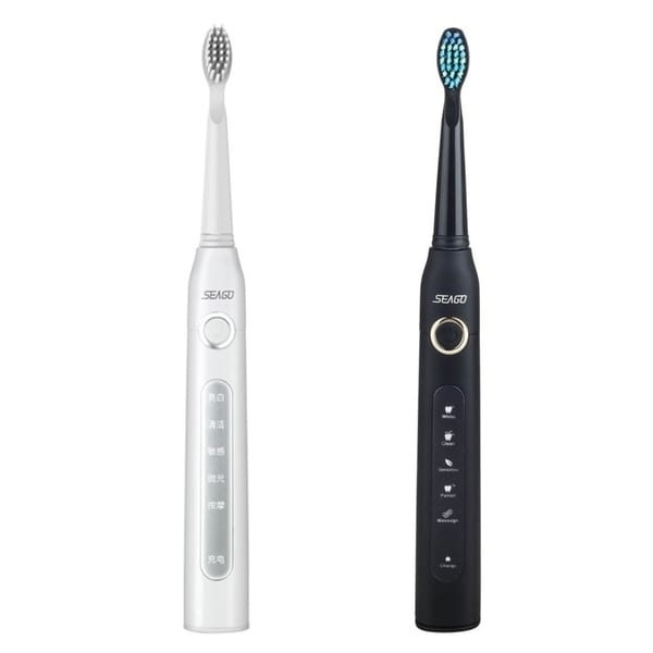 Adults Sonic Electric Toothbrush Seago Sg-507 Rechargeable Tooth Brush 5 Modes Deep Oral Clean Soft Dupont Bristle Brush Heads Electric Toothbrushes & Replacement Heads